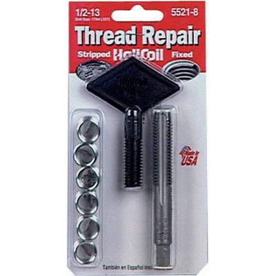 """Helicoil 5521-8 Thread Repair Kit, 1/2"""" x 13 NC"""
