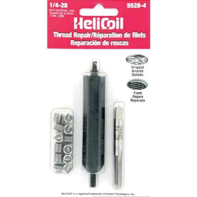 "Helicoil 5528-4 Thread Repair Kit, 1/4"" x 28 NF"