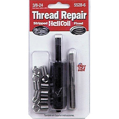"Helicoil 5528-6 Thread Repair Kit, 3/8"" x 24 NF"