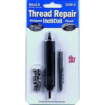 Helicoil 5546-5 Thread Repair Kit, 5mm x 0.80 NC