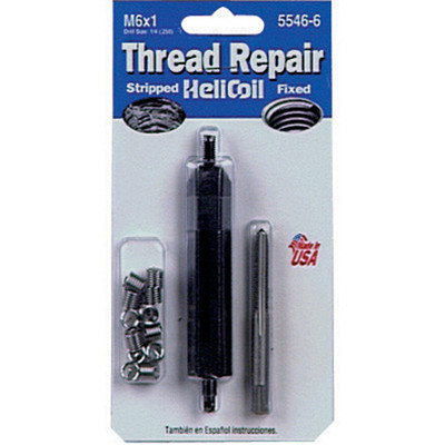 Helicoil 5546-6 Thread Repair Kit, 6mm x 1.00 NC