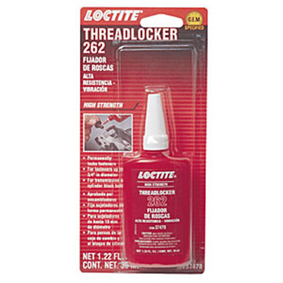 Loctite 37478 Threadlocker 262 - High Strength