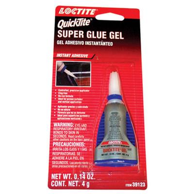 Loctite 39123 Quicktite Super Glue Gel - Instant Adhesive