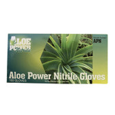 Lightning Gloves APN-L AloePower Nitrile Gloves, Large