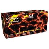 Orange Lightning OR-M Nitrile Gloves Medium