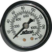 "Milton 1189 Mini Gage 1/8"" NPT, 0-160 PSI"
