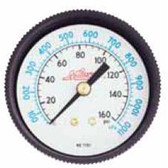 """Milton 1191 Gage 1/4"""" NPT, 0-160 PSI - Cen"""