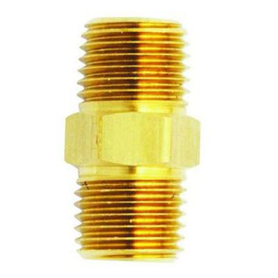 """Milton 646-1 M. Hex Nipple, 1/4"""" x 3/8"""""""