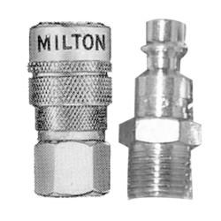 "Milton 711 1/4"" F. Body & M. Plug M-Style"