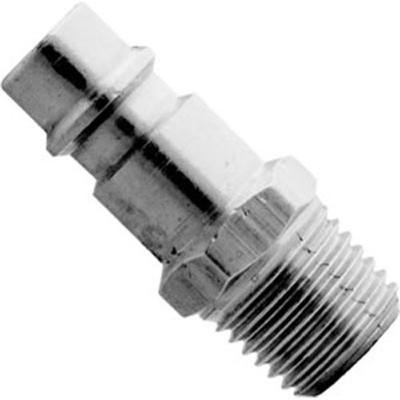 """Milton 760-1 V-Style 1/4"""" MNPT Steel Plug"""