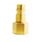 "Milton 761 V-Style 1/4"" FNPT Brass Plug"
