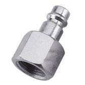 """Milton 763-1 V-Style 3/8"""" FNPT Steel Plug"""
