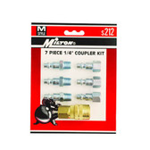 Milton S212 7 Piece M-Style Coupler Kit