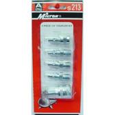 Milton S213 5 Piece A-Style Coupler Kit