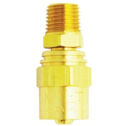 "Milton S615 Reusable Hose End, 1/4"" x 9/16"
