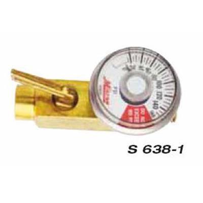 """Milton S638-1 In-Line Reg. W/Gage F.1/4""""x M."""