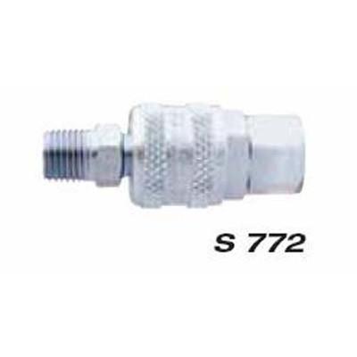 "Milton S772 1/4"" F. Body & M. Plug A-Style"