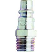"Milton 1839 1/4"" Male Plug H-Style"