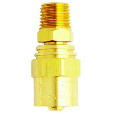 "Milton 615 Hose End 1/4"" x 9/16"""