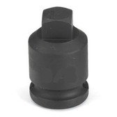 "Grey Pneumatic 1006PP 3/8"" Drive x 3/16"" Square Male Pipe Plug Socket"