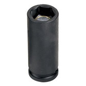 "Grey Pneumatic 1013MDG 3/8"" Drive x 13mm Magnetic Deep Socket"