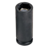 "Grey Pneumatic 1015MDG 3/8"" Drive x 15mm Magnetic Deep Socket"