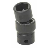 "Grey Pneumatic 1016UM 3/8"" Drive x 16mm Standard Universal Socket"