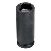"Grey Pneumatic 1024DG 3/8"" Drive x 3/4"" Magnetic Deep Socket"