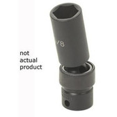 "Grey Pneumatic 1024UD 3/8"" Drive x 3/4"" Deep Universal Socket"