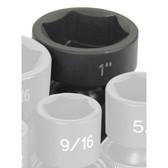 """Grey Pneumatic 1032U 3/8"""" Drive x 1"""" Standard Universal Socket"""