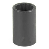 "Grey Pneumatic 1109M 3/8"" Drive x 9mm 12 Point Standard Socket"