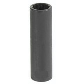 "Grey Pneumatic 1110D 3/8"" Drive x 5/16"" Deep - 12 Point Socket"