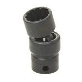 "Grey Pneumatic 1110U 3/8"" Drive x 5/16"" Standard Universal - 12 Point Socket"