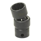 "Grey Pneumatic 1111UM 3/8"" Drive x 11mm Standard Universal - 12 Point Socket"