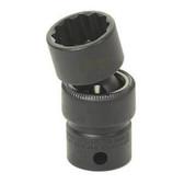 "Grey Pneumatic 1111UM 3/8"" Drive x 11mm Standard Universal - 12 Point Socket"