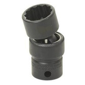 "Grey Pneumatic 1113UM 3/8"" Drive x 13mm Standard Universal- 12 Point Socket"