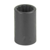 "Grey Pneumatic 1115M 3/8"" Drive x 15mm 12 Point Standard Socket"