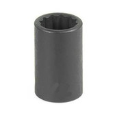 "Grey Pneumatic 1116M 3/8"" Drive x 16mm 12 Point Standard Socket"