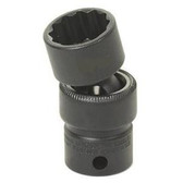 "Grey Pneumatic 1116UM 3/8"" Drive x 16mm Standard Universal- 12 Point Socket"