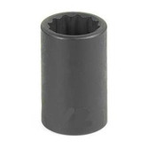 "Grey Pneumatic 1117M 3/8"" Drive x 17mm 12 Point Standard Socket"
