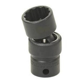"Grey Pneumatic 1117UM 3/8"" Drive x 17mm Standard Universal- 12 Point Socket"