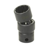 "Grey Pneumatic 1119UM 3/8"" Drive x 19mm Standard Universal- 12 Point Socket"