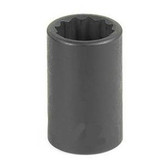 "Grey Pneumatic 1120R 3/8"" Drive x 5/8"" 12 Point Standard Socket"