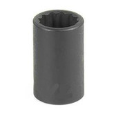 "Grey Pneumatic 1122M 3/8"" Drive x 22mm 12 Point Standard Socket"