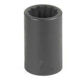 "Grey Pneumatic 1122R 3/8"" Drive x 11/16"" 12 Point Standard Socket"
