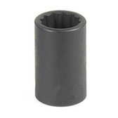 "Grey Pneumatic 1128R 3/8"" Drive x 7/8"" 12 Point Standard Socket"