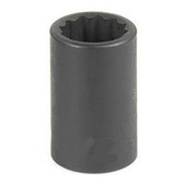 "Grey Pneumatic 1132R 3/8"" Drive x 1"" 12 Point Standard Socket"