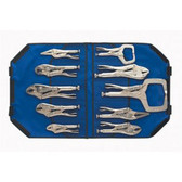 "Irwin 1078KB 10pc Locking Plier Set "" Bag"