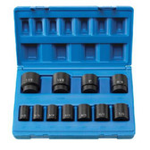 "Grey Pneumatic 1311S 1/2"" Drive 11 Piece Standard Set - 8 Point"