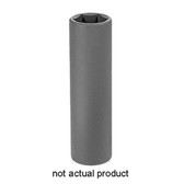 "Grey Pneumatic 2021XMD 1/2"" Drive x 21mm Extra-Deep Socket"